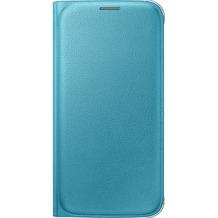 Samsung Flip Wallet PU EF-WG920 für Galaxy S6, Blau