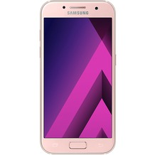 Samsung Galaxy A3 (2017) - peach-cloud