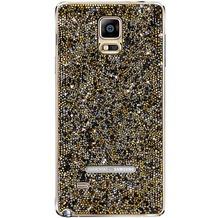 Samsung Galaxy Note 4 SVAROWSKI-Akkudeckel, sunset gold