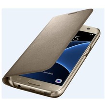 Samsung LED View Cover für Galaxy S7, gold