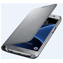Samsung LED View Cover für Galaxy S7, silver