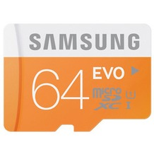 Samsung Micro SD Karte EVO 64GB Class10 + Adapter
