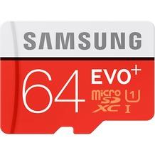 Samsung MicroSD EVO+ 64GB Class10 R80/W20 + Adapter