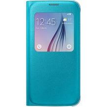 Samsung S-View Cover PU EF-CG920 für Galaxy S6, Blau