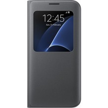 Samsung S View Cover für Galaxy S7 edge, black