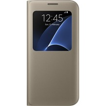 Samsung S View Cover für Galaxy S7 edge, gold