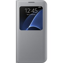 Samsung S View Cover für Galaxy S7 edge, silver