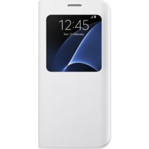 Samsung S View Cover für Galaxy S7 edge, white
