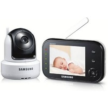 Samsung SEW-3037/EX 3,5 Zoll LCD Pan Tilt Zoom Videobabyphone,