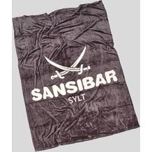 Sansibar Heimdecke, anthrazit 150x200