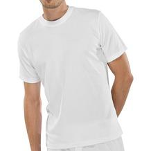 Schiesser Shirt kurzarm American T-Shirt Rundhals Doppelpack weiß 4XL