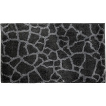 Schöner Wohnen Badteppich Mauritius Des. 005 Col. 040 Steine anthrazit 60 cm x 60 cm