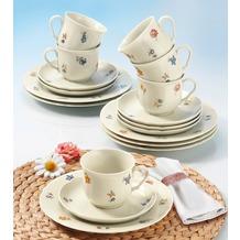 Seltmann Weiden Kaffeeservice 18-tlg. Marieluise elfenbein 44714