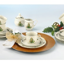 Seltmann Weiden Kaffeeservice 20-tlg. 2 Marie Luise Weihnachten 43607 bunt, grün