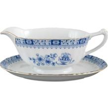 Seltmann Weiden Sauciere Dorothea China Blau 24800 blau, gold