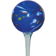 Siena Garden Glaskugel Happy Blues D: 15cm auf Glasstab