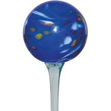 Siena Garden Glaskugel Happy Blues D: 20cm auf Glasstab