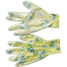 Siena Garden Handsch. Young Style,gelb Nylon, Nitril, Gr. 8
