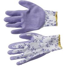 Siena Garden Handschuh Flower, lila Nylon, Latex, Gr.7