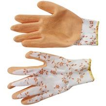 Siena Garden Handschuh Flower, orange Nylon, Latex, Gr.7