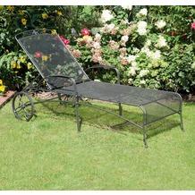 Siena Garden Rollliege Romaneo, mehrfach-verstellbar, L 182 x B 73 x H 110 cm