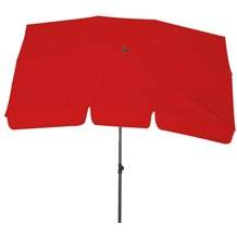 Siena Garden Schirm 2,1x1,4 Poly rot Gest anthr/Pol rot UV+50