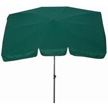 Siena Garden Sonnenschirm Tropico, grün, Gestell: anthrazit, Polyester grün, UV+50, L 210x B 140cm