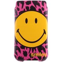 Smiley Handyhülle für Samsung Galaxy S4, pink