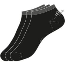 s.Oliver Sneaker 3 Paar 05 black 3 Paar S24001 35/38