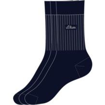 s.Oliver Sport Socken 3 Paar 04 navy S30001 35/38