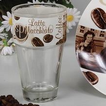 Domestic Latte Macchiato Glas Latte Macchiato
