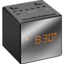 Sony ICF-C 1 TB, Uhrenradio, Schwarz
