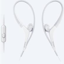Sony MDR-AS410AP spritzwassergeschützter In-Ohr Sportkopfhörer, weiß