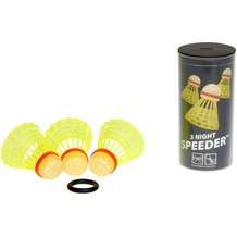 Speedminton 3er Speeder® NIGHT Tube 12 x 6 cm