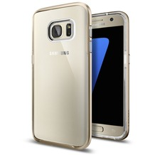 Spigen Neo Hybrid Crystal for Galaxy S7 gold colored