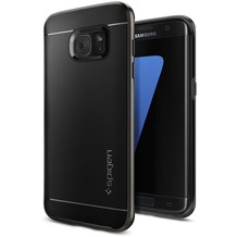 Spigen Neo Hybrid for Galaxy S7 Edge gun metal