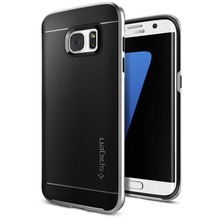 Spigen Neo Hybrid for Galaxy S7 Edge satin silver