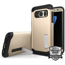 Spigen Slim Armor for Galaxy S7 Edge gold