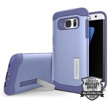 Spigen Slim Armor for Galaxy S7 Edge lila