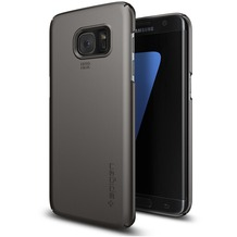 Spigen Thin Fit for Galaxy S7 Edge gun metal