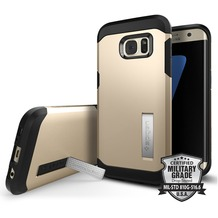 Spigen Tough Armor for Galaxy S7 Edge gold