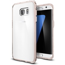 Spigen Ultra Hybrid for Galaxy S7 Edge rose crystal