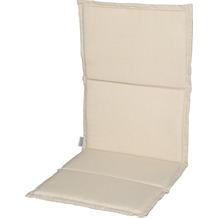 Stern Auflage ca. 93x46x2 cm für Stapelsessel 100% Polyester, Dessin natur Struktur