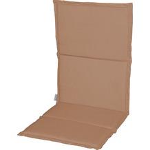 Stern Auflage ca. 96x47x2 cm für Stapelsessel 100 % Polyester, Dessin uni sand
