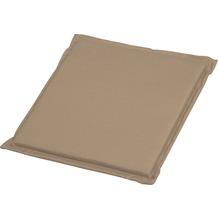 Stern Universal-Sitzkissen ca. 44x44x2 cm 100 % Polyester, Dessin uni sand