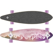 Streetsurfing Longboard Pintail 40, Design: Cloudy-P1