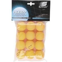 sunflex Tischtennis-Ball HOBBY, orange, 12er Pack