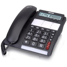 Switel TF535 Big Button Telefon, schwarz