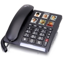 Switel TF540 Big Button Telefon, schwarz