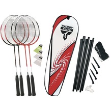 Talbot Torro Badminton-Set 4-ATTACKER PLUS Set im Thermobag mit Netz